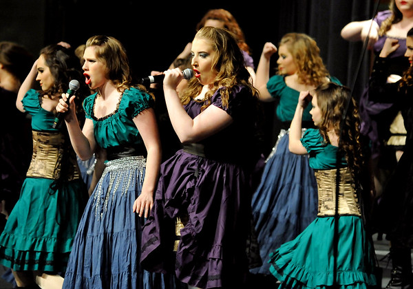Globe/Willie Brown<br /> The Touch of Class show choir performs on Jan. 18, 2017, at Joplin High School.