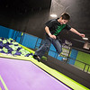 Globe/Roger Nomer<br /> Keegan Delgado, 8, Lincoln, Neb., jumps at Soar Trampoline Park on Thursday in Webb City. Delgado was visiting his grandparents over the Christmas break.