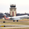 An American Eagle departure for Dallas goes wheels up on Thursday at the Joplin Regional Airport. The airport will also soon be offering service to Chicago.<br /> Globe   Laurie Sisk