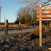 Joplin Trails Coalition volunteers set out to clear brush on a half-mile section of the Ruby Jack Trail in Oronogo on Saturday morning.<br /> Globe | Laurie Sisk