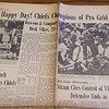 Joplin Globe from the 1970 Kansas City Chiefs Superbowl victory.<br /> Globe | Roger Nomer