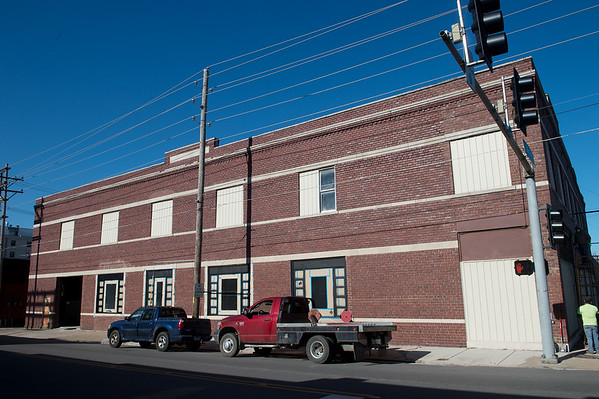 New lofts and retail space are being planned for the former Lewis Motor Company building along Joplin Street.<br /> Globe   Roger Nomer