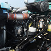 Globe/Roger Nomer<br /> The new engines on the Tri-State Motor Transit trucks are more fuel efficient.