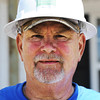 "Globe/T. Rob Brown<br /> John ""Iceman"" Williams, of Joplin, a Habitat for Humanity volunteer."