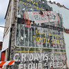 Globe/T. Rob Brown<br /> Following the demolition of the collapsed building in downtown Joplin, an old building advertisement painting for Wrigley's Spearmint gum has been revealed as seen Wednesday, July 31, 2013. The building is located on South Main Street, near the intersection with 9th Street.