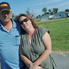 Globe/Roger Nomer<br /> Steve and Patricia Jones have been given this parcel of land in Duquesne, but are still trying to find help to build a home following thier losses in the 2011 tornado.