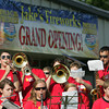 Globe/Roger Nomer<br /> The Pittsburg State University Band plays before the opening of Jake's Fireworks in Pittsburg.