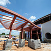 Globe/T. Rob Brown<br /> The front of the new Irving Elementary School under construction Tuesday, July 16, 2013.