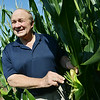 Globe/Roger Nomer<br /> Rep. Bill Reiboldt talks about his corn yield at his farm in Neosho during an interview on Wednesday morning.