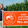 Globe/Roger Nomer<br /> Rep. Bill Reiboldt talks about his sponsorship of Amendment 1 during an interview at his Neosho farm on Wednesday morning.