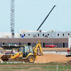 Progress continues Tuesday morning on construction of the new Neosho Junior High School in Neosho.<br /> Globe | Laurie Sisk