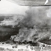 A 1966 photograph provides an aerial view of the Hercules explosion.<br /> Courtesy photo/Jasper County Records