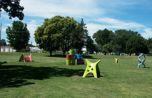 Globe/Roger Nomer<br /> An accessible playground is being proposed for Katy Park in Chanute.