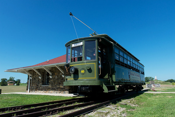 Globe/Roger Nomer<br /> Webb City's Street Car #60 is celebrating its centennial year.