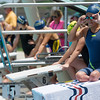 Globe/Roger Nomer<br /> Haven Shepherd prepares for her race at Schifferdecker Pool on Saturday, July 16.