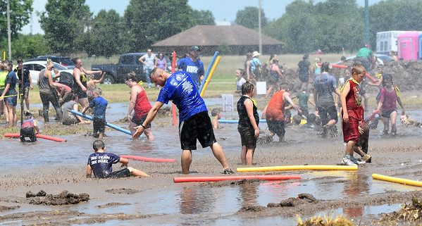 Guests from all around the Four States have a little good, clean fun during Mudstock on Saturday in Carthage. The annual event is a drug awareness program sponsored by the Alliance of Southwest Missouri, with a course designed by Carthage Fire Department, Carthage Police Department, and the Carthage Caring Communities Coalition.<br /> Globe | Laurie Sisk