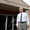 Longtime Jasper County Public Defender Larry Maples stands outside his Carthage office on Thursday. Maples retires Monday after 35 years of service to Jasper County residents.<br /> Globe | Laurie Sisk