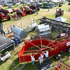 Visitors roam the grounds during the first day of the Four States Farm Show on Friday in Pittsburg. The show continues through Sunday.<br /> Globe | Laurie Sisk