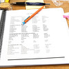 Class materials adorn a table during a Spanish Language immersion class for emergency responders on Thursday at Missouri Southern.<br /> Globe | Laurie Sisk