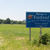Globe/Roger Nomer<br /> One of the improvements residents hope to make is the improvement of the Fairland signs.