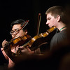 Globe/Roger Nomer<br /> Justin Santos, 18, Lawton, Okla., left, and Cody Ward, 17, Kansas City, Mo., practice on Monday during the Next Generation Performing Arts Camp at Missouri Southern.