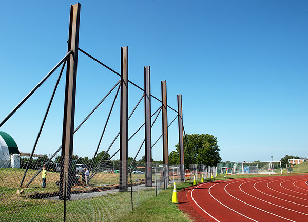 A new video scoreboard is under construction at Missouri Southern.<br /> Globe | Roger Nomer