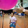 Jaxdyn Hackett, 7, plays at game at the Boys and Girls Club of Southwest Missouri on Monday.<br /> Globe | Roger Nomer