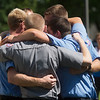 Western Taney County first responders embrace following Sunday's memorial service at the College of the Ozarks. Many of the first responders attending worked the boat accident on Table Rock Lake on Thursday.<br /> Globe | Roger Nomer