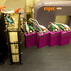 Battery prototypes are tested at Missouri Southern on July 16.<br /> Globe | Roger Nomer