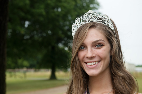 Hunter Fraley, Pittsburg State junior, is the current Miss Teen USA.<br /> Globe | Roger Nomer
