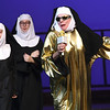 """Sister Mary Lazarus (Susie Lundy) rocks the house during rehearsal for the Pittsburg Community Theatre production of """"Sister Act"""" on Tuesday night at Pittsburg's Memorial Auditorium.<br /> Globe 