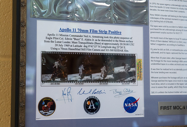 A new exhibit on Apollo 11 is on display at the Joplin History Museum.<br /> Globe | Roger Nomer