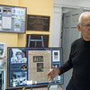 Allen Shirley talks about a new exhibit on Apollo 11 at the Joplin History Museum on Thursday.<br /> Globe | Roger Nomer