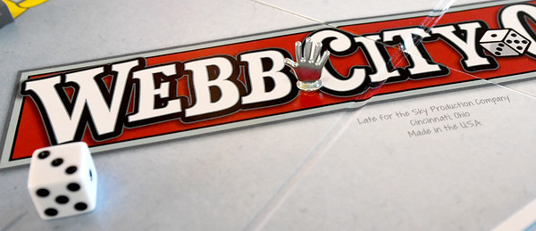 The Webb City Opoly game includes the classic features of the popular Monopoly game, but is customized to showcase local landmarks and businesses.<br /> Globe | Laurie Sisk