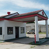 Eli Chenoweth has bought a couple of historic gas stations in Miami, including the Marathon gas station on Route 66.<br /> Globe | Roger Nomer