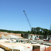 Globe/Roger Nomer<br /> Construction continues on the lower portion of the new Mercy Hospital.