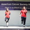 """Globe/T. Rob Brown<br /> The Route 66 Cloggers perform during the American Cancer Society Relay for Life event Saturday afternoon, June 2, 2012, in Carthage Central Park. These four members of the clogging group are, from left: Diane """"Dice"""" Gray, of Granby, Jessica Achey, of Lamar, Trisha Massey, of Carl Junction, and instructor Kathy Parrish, of Joplin."""