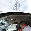 Globe/T. Rob Brown Verizon Wireless RF (radio frequency) technician Travis Goad tests a tower Friday morning, June 15, 2012, off 20th Street, near Rex, in the 2011 tornado zone.