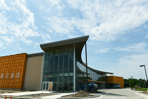 Globe/Roger Nomer<br /> The Pittsburg State University Bicknell Family Center for the Arts is slated to open in December.