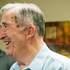 Globe/Roger Nomer<br /> Jack Brill celebrates his retirement after working for Eagle Picher since 1962 during a ceremony on Thursday.