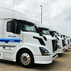 Globe/Roger Nomer<br /> Con-Way Truckload has added 550 new trucks, many of which are automatic transmission.