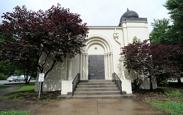 The United Hebrew Congregation Temple at 702 S. Seargeant St. turned 100 years old this year.<br /> Globe | | Laurie Sisk