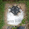 Globe/Roger Nomer<br /> Revolutionary War soldier Moses Duncan is buried at the Cave Springs Cemetery.