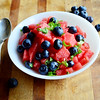 This Blueberry Watermelon salad is simple, healthy and delicious. Serve it for breakfast or alongside grilled chicken or fish.