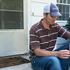 Globe/Roger Nomer<br /> Clint Wilkerson talks about the emotional toll of his father's absence.