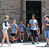 Sarcoxie High School students serve as class aides in exchange for tutoring hours during summer school on Friday at Wildwood School in Sarcoxie.<br /> Globe | Laurie Sisk