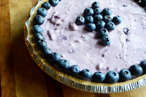 This No Bake Blueberry Lemon Pie is perfect for this time of year. It's sweet, slightly tart, and incredibly easy to make.