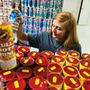 Globe/Roger Nomer<br /> Jaycee Henderson stocks fireworks on Monday at Central City Fireworks.