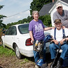 Globe/Roger Nomer<br /> Delores and Max Wilkerson would travel in the family's Oldsmobile to visit Mike every weekend.