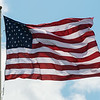 Globe/Roger Nomer<br /> An American flag flies over the oval at Missouri Southern.